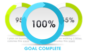 fitness wellness goals, continuous online feedback, fitness feedback