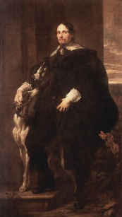 ANTOONE VAN DICK - Ritratto di Philippe Le Roy, signore di Ravels