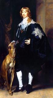 ANTOONE VAN DICK - Ritratto di Giacomo Stuart, duca di Lenox e Richmond