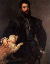 TIZIANO VECELLIO - Ritratto di Federico II Gonzaga