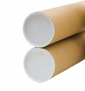 Corrugated Core Tube With End Caps