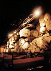 居酒屋 擬岩内装