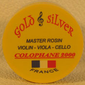 colophane gold & silver