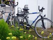 Polizei-Fahrräder