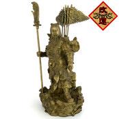 関羽様の神像