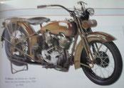 MOTO HARLEY-DAVIDSON JDH 1929