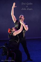 José Galán & Lola Lopéz 2019 beim Flamenco-Festival im tanzhaus nrw/Color-Foto by Boris de Bonn