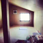 (2013/04/12)小屋裏収納