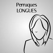 Perruque longue Blonde Rubato