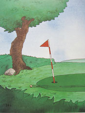 『ゴルフの本』14ページ目