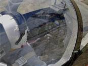 Détails du cockpit
