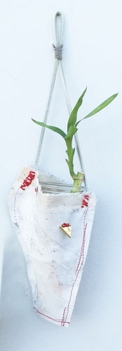 indoor wall planter 3 made out of recycled materials | SOLD