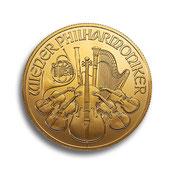 Goldmünzen, Krügerrand, Känguru, Philharmoniker, Maple Leaf, American Eagle, Buffalo, China Panda