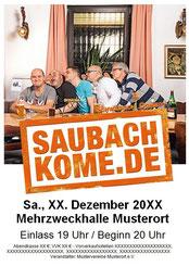 Saubachkomede Pressemitteilung