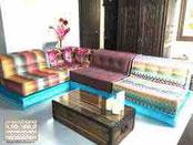 décoration trunk appartement Louis Vuitton