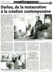 Midi Libre décembre 2008