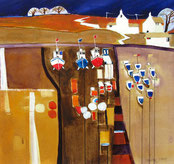 Highly Commended - Pauline Jones's 'Fishing Boats'