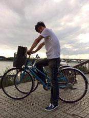 レンタサイクル1日300円!!安っ。レンタサイクルは土日のみの営業です。