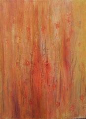 Mohnblumen II , Mischtechnik auf Leinwand, 60 x 80 cm, 2006
