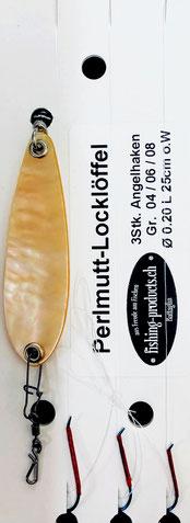 Perlmutt-Locklöffel NK56