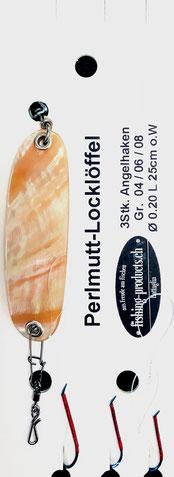 Perlmutt-Locklöffel NR56