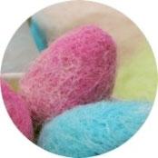 Ostern - Ostereier filzen - DIY