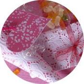 Valentinstag - Süßes für die Süße - Süßigkeiten schön verpackt - DIY