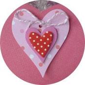 Valentinstag - Süßes für die oder den Süße(n) - Süßigkeiten schön verpackt - DIY-Projekt