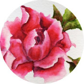 Muttertag - Grußkarte Pfingstrosen malen - DIY