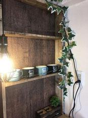 収納たっぷりな使いやすいおしゃれキッチンカウンターをDIY