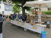 Stand des Städtepartnerschaftsvereins Weilburg