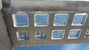 Begehbare Kreisrunde Hohlbetongläser ORBIS B R19/10 Clearview Hohlglasstein Betongläser Ø 190x100 Glass Blocks Pavers Ø 19x10 cm glasbausteine-center Danmark Glas blokke Österreichj Schweiz Luxemburg Glasstahlbeton Glasdecke paneel Glasbaustein LSA