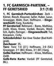 GaPa Tagblatt vom 05.11.2012