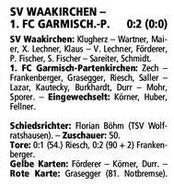 GaPa Tagblatt vom 22.04.2013