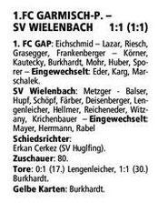 GaPa Tagblatt vom 02.05.2013