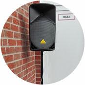 Erweitern Sie die Beschallung durch zusätzliche Lautsprecher. Für die Terasse, den Raucherraum oder verwinkelte Räumlichkeiten.