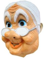Masker Sarah met brilletje € 3,95