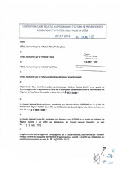 Convention cadre du 7 août 2020 et annexes