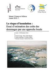 Le risque d'inondation : essai d'estimation des coûts de dommages par une... 2017