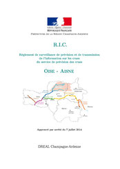 Règlement d'information sur les crues, SPC Oise Aisne, 2014