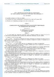 Loi 2014-58 MAPTAM