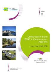Construction d'une ZRDC, avant-projet détaillé, 2011