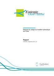Reprise du calage du modèle hydraulique de l'Oise, 2013