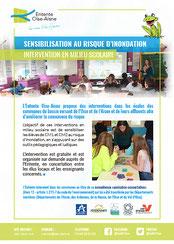 Brochure de présentation des interventions scolaires
