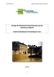 Impacts hydrauliques et économiques en aval, 2010