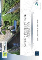 Dossier autorisation Loi sur l'eau ru de Fayau à Aizelles, 2016