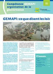 Compétence GEMAPI, organisation de la gouvernance, 2016