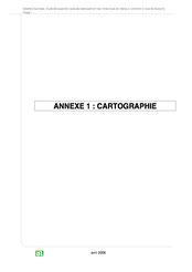 Annexe : cartographie