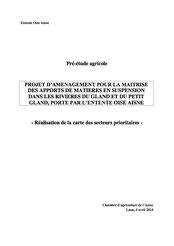 Projet d'aménagement pour la maîtrise des apports de matière en... 2014