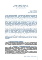 L'inondation de 1784. Jean-Yves BONNARD, 2009